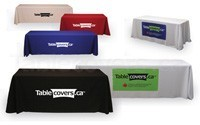 Browse economy custom printed table throws (printed in Canada)