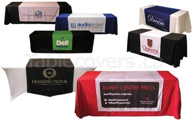 Browse printed table runners (custom made in Canada)
