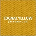 Cognac Yellow Premium Polyester Fabric