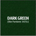 Dark Green Premium Polyester Fabric