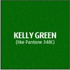Kelly Green Premium Polyester Fabric