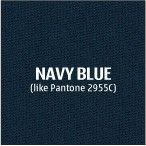 Navy Blue Premium Polyester Fabric