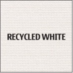 Recycled White Premium Polyester Fabric