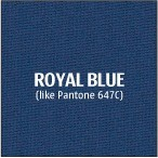 Royal Blue Premium Polyester Fabric