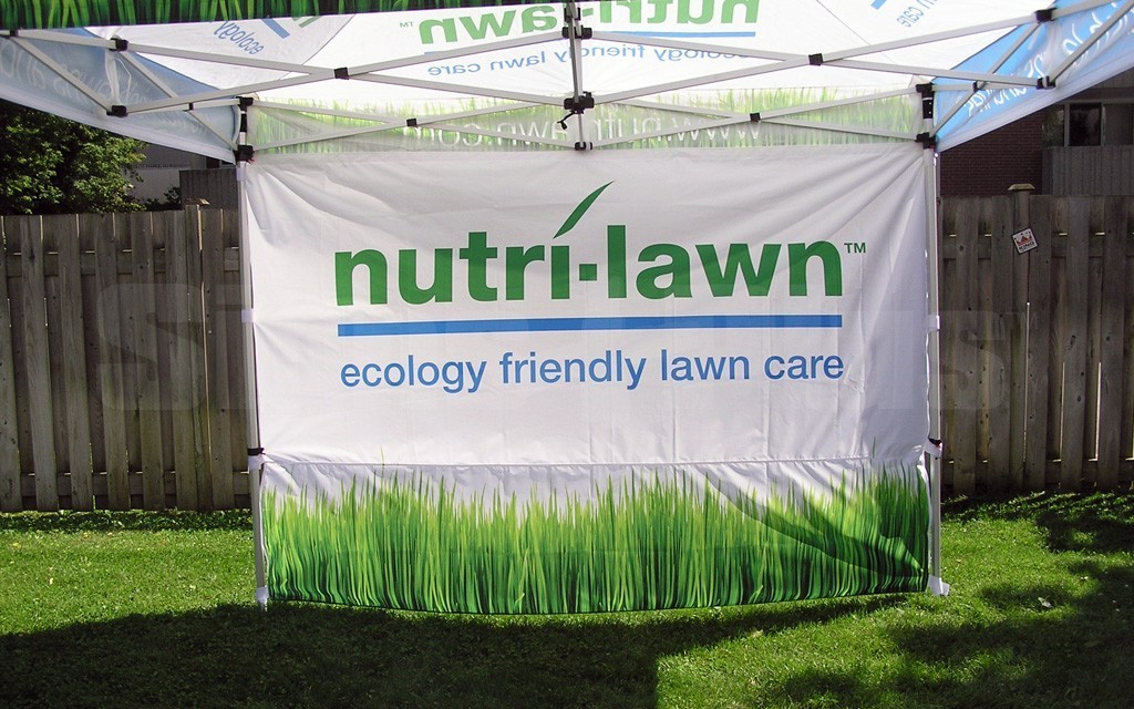 The Event Tent 10' custom printed full wall S/S provides great messaging space for your tent and is printed on the front side with any content you want