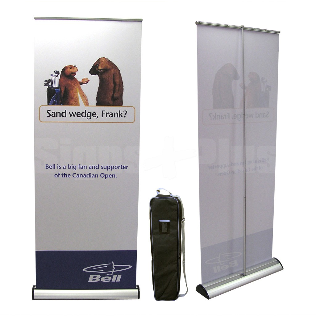 Barracuda 800 Complete Kit includes the frame hardware, padded carrying bag and printed banner
