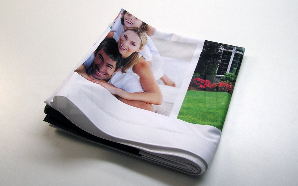 Printed Fabric Graphics for FabPop displays are dye sublimation printed at high resolution, with 2