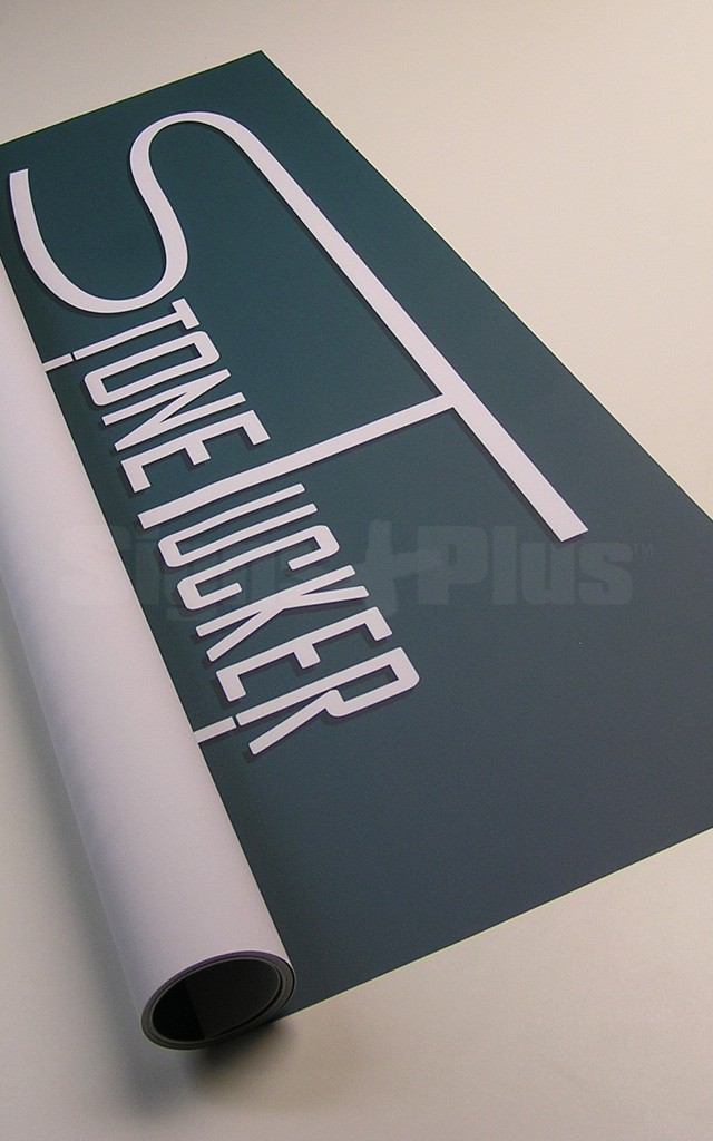 For the best appearance possible, choose premium lay-flat, flame-retardant vinyl banners with high resolution full colour printing