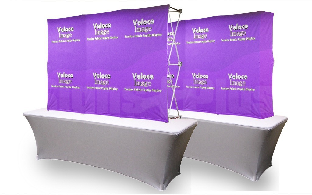 Velocé Image is available with graphic covering either the front only or optionally the front & sides