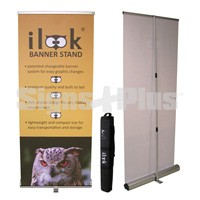 i-Look IK90 RoHS compliant recyclable rollup banner stand
